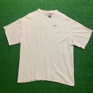 Vintage Early 2000s Nike Essential Tiny Swoosh Tee